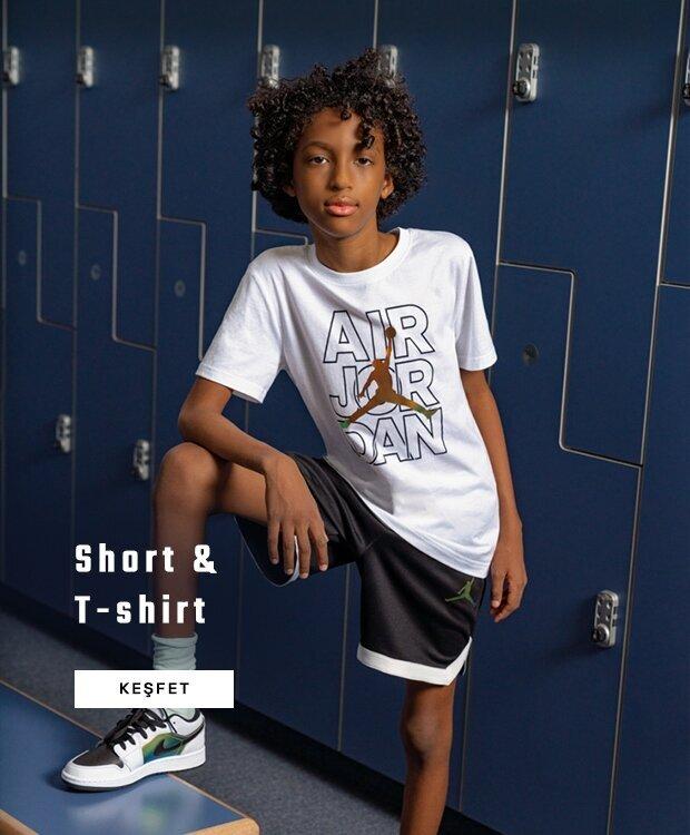 Çocuk tişört&şort
