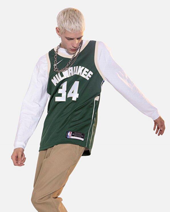 Resim Nike Milwaukee Bucks M  Swingman Jsy Icon 20 NBA
