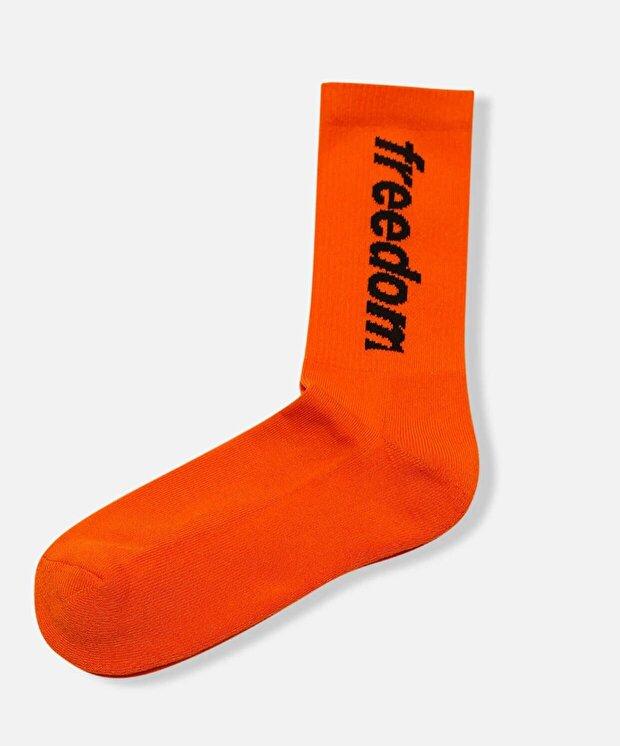 Resim Freedom Of Space New Logo Socks